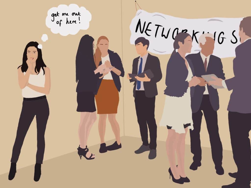 Networking tips for those who are anxious
