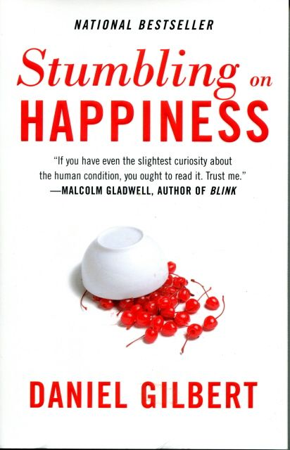 Stumbling on Happiness by Daniel Gilbert - Self-help books