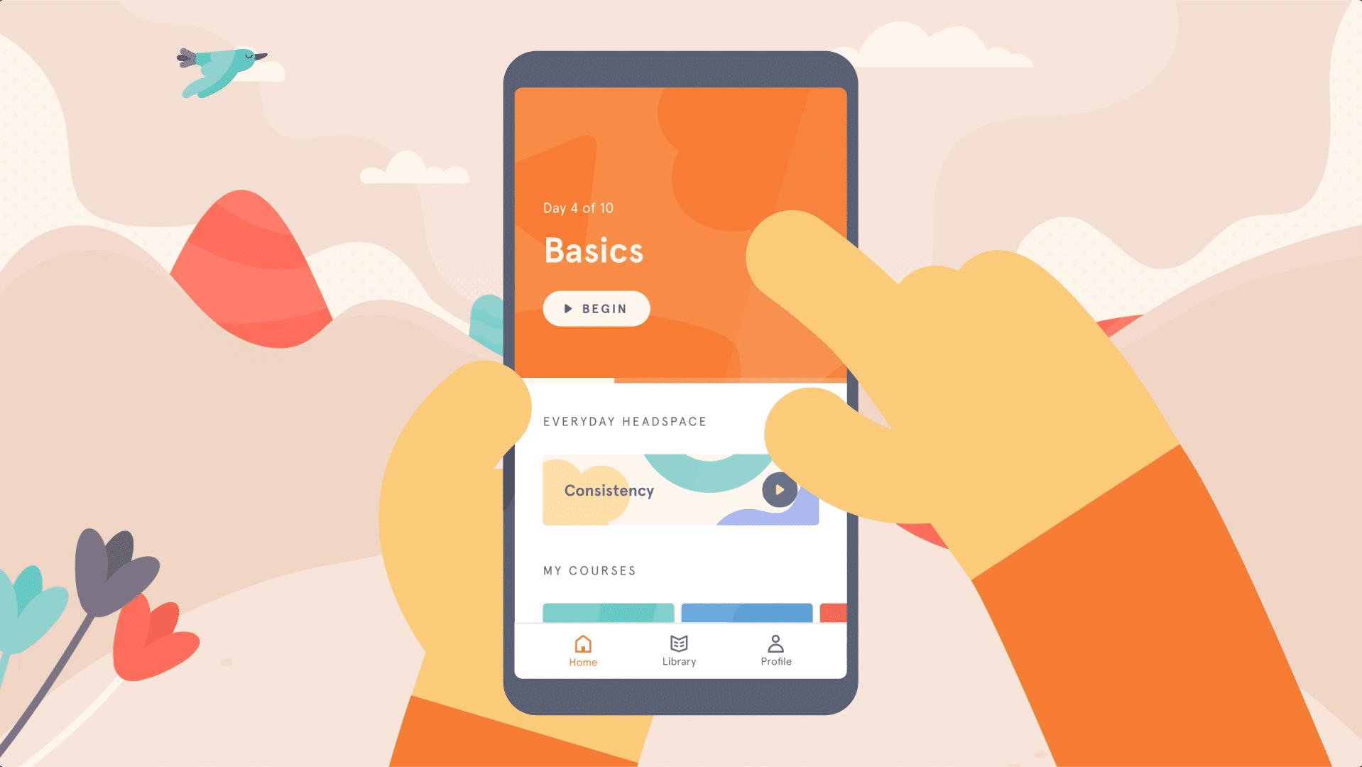 Self-care apps - Headspace