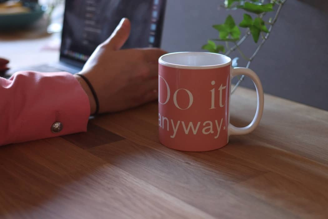 Two-minute trick  - Do it anyway mug